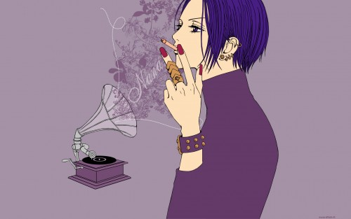 Ai Yazawa, NANA, Nana Osaki, Vector Art Wallpaper