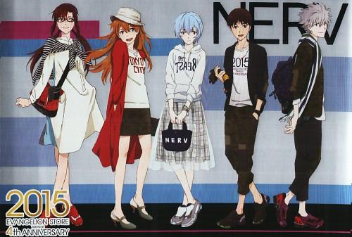 Gainax, Neon Genesis Evangelion, Kaworu Nagisa, Asuka Langley Soryu, Rei Ayanami