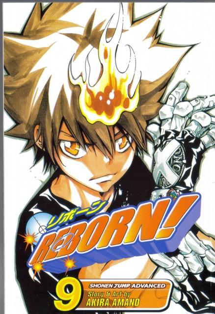 Akira Amano, Katekyo Hitman Reborn!, Tsunayoshi Sawada, Manga Cover
