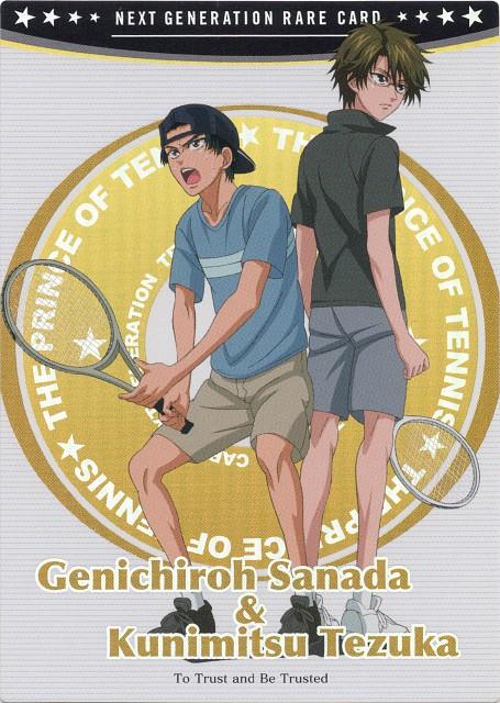 Takeshi Konomi, J.C. Staff, Prince of Tennis, Kunimitsu Tezuka, Genichiro Sanada