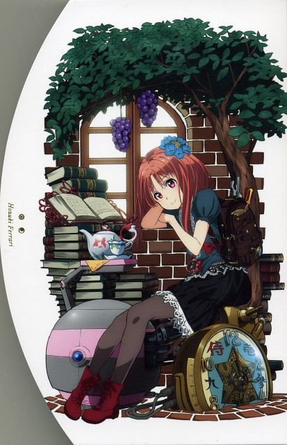 A-1 Pictures, Galilei Donna, Hozuki Ferrari, DVD Cover