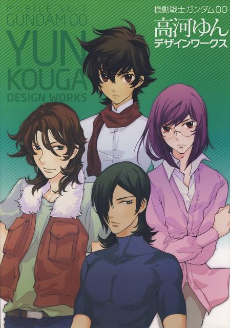 Yun Kouga, Mobile Suit Gundam 00, Gundam 00 Yun Kouga Design Works, Allelujah Haptism, Setsuna F. Seiei