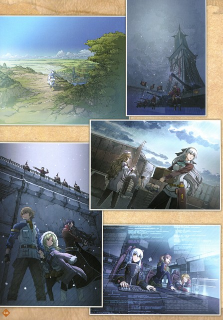 Falcom, The Legend of Heroes Illustration Artbook, The Legend of Heroes: Zero no Kiseki, The Legend of Heroes: Ao no Kiseki, Arios Maclaine