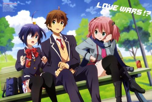 Kazumi Ikeda, Kyoto Animation, Chuunibyou demo Koi ga Shitai!, Yuuta Togashi, Makoto Isshiki
