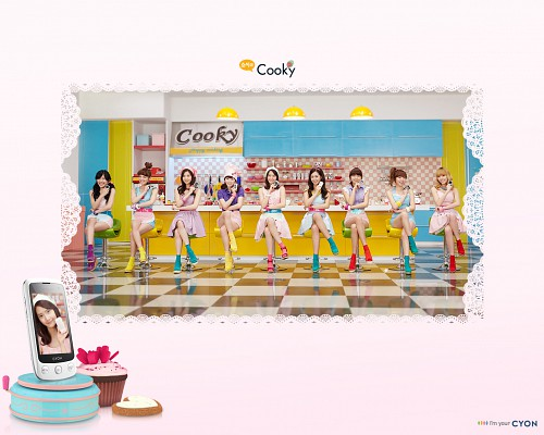 Yuri (Girls Generation), Sunny, Tiffany, HyoYeon, Jessica