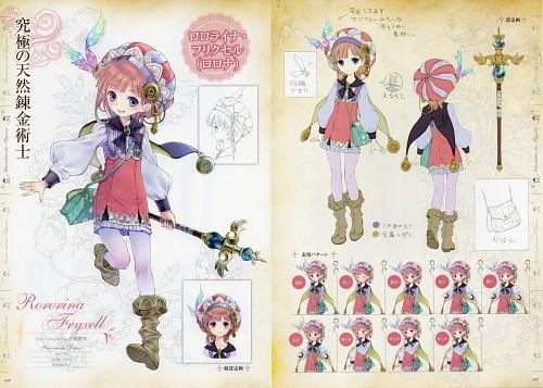 Mel Kishida, Gust, Atelier Meruru, Rororina Frywell, Character Sheet