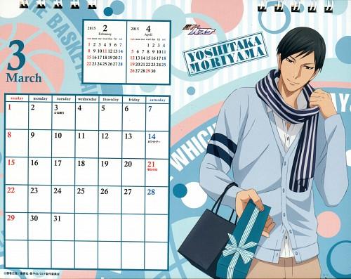 Tadatoshi Fujimaki, Production I.G, Kuroko no Basket, Kuroko No Basket Calendar 2015, Yoshitaka Moriyama