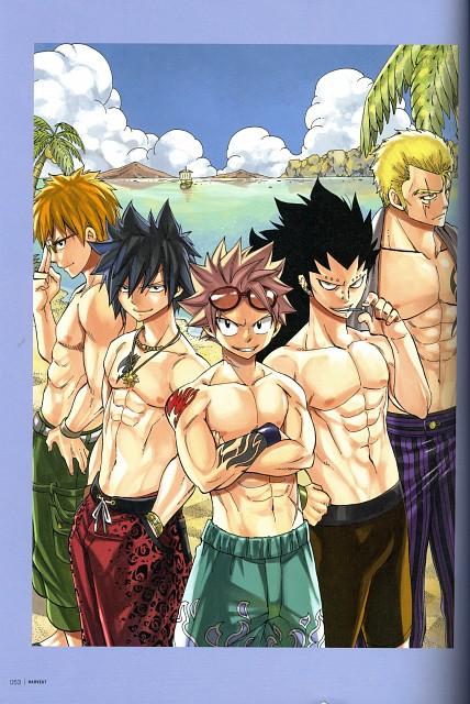 Hiro Mashima, Satelight, Fairy Tail, Fairy Tail Illustrations: Harvest, Gray Fullbuster