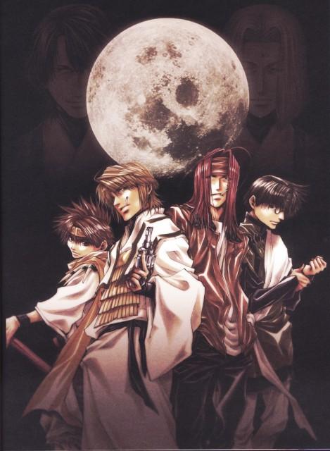 Kazuya Minekura, Studio Pierrot, Saiyuki, Salty Dog V, Sha Gojyo