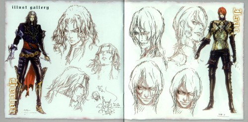 Ayami Kojima, Castlevania, Isaac (Castlevania), Hector, Character Sheet