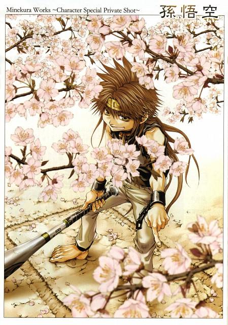 Kazuya Minekura, Saiyuki Gaiden, Son Goku (Saiyuki), Comic ZERO-SUM