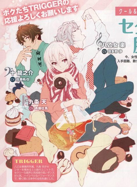 IDOLiSH7, Ryunosuke Tsunashi, Gaku Yaotome, Tenn Kujou, Magazine Page