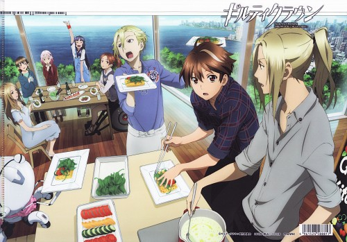 Production I.G, GUILTY CROWN, Arisa Kuhouin, Shu Ouma, Hare Menjou