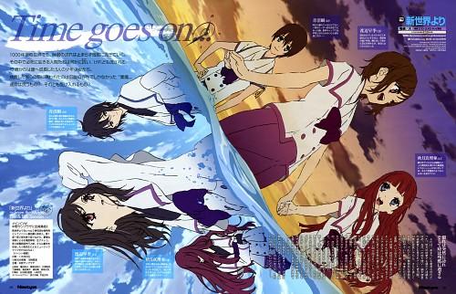 Hirokazu Kojima, A-1 Pictures, Shin Sekai Yori, Maria Akizuki, Shun Aonuma