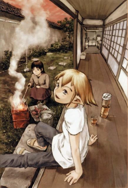 Yoshitoshi Abe, NieA_7, NieA (Character), Mayuko Chigasaki