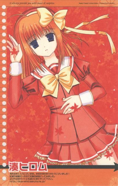 Minato Hiromu, Navel (Studio), Really? Really! Original Illustration Collection, Shuffle!, Kaede Fuyou