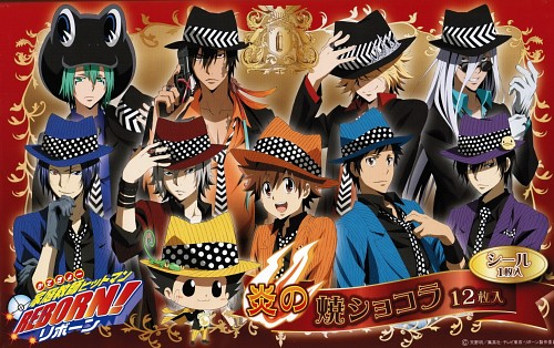 Akira Amano, Artland, Katekyo Hitman Reborn!, Hayato Gokudera, Belphegor (Katekyo Hitman Reborn!)