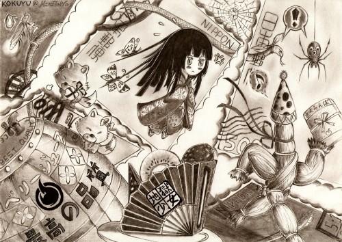 Studio DEEN, Jigoku Shoujo, Ai Enma, Member Art