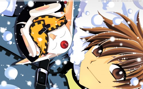 CLAMP, Bee Train, Tsubasa Reservoir Chronicle, Syaoran Li, Mokona Wallpaper