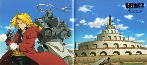 BONES, Fullmetal Alchemist, Alphonse Elric, Edward Elric, Album Cover