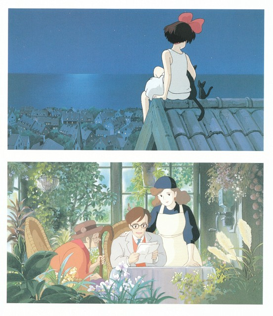 Hayao Miyazaki, Studio Ghibli, Kiki's Delivery Service, The Art of Kiki's Delivery Service, Mr. Okino