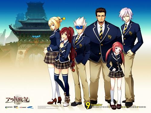 Dungeon Fighter Online, Jeda, Ixia, Baron Abel, Ryunmei