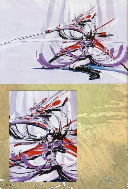 Makoto Tsuchibayashi, Capcom, Design Works, Sengoku Basara, Oichi (Sengoku Basara)