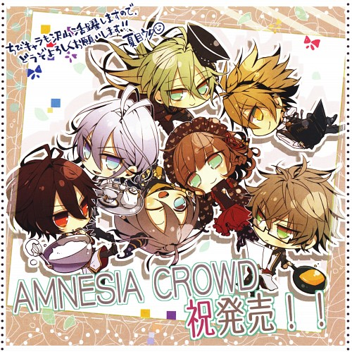 Mai Hanamura, Idea Factory, Brains Base, AMNESIA Crowd Official Visual Fan Book, AMNESIA