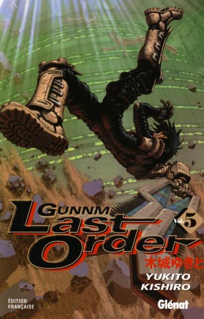 Yukito Kishiro, Madhouse, Gunnm, Sechs, Manga Cover