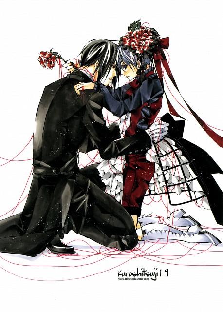 Shina Himetsuka, Kuroshitsuji, Sebastian Michaelis, Ciel Phantomhive, Doujinshi