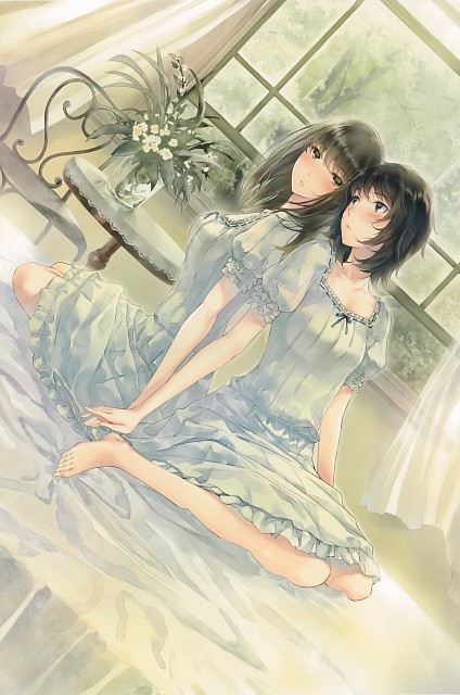 Miki Sugina, Innocent Grey, Kasou (Artbook), FLOWERS (Visual Novel), Erika Yaegaki