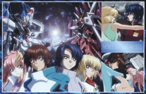 Sunrise (Studio), Mobile Suit Gundam SEED, Kira Yamato, Athrun Zala, Cagalli Yula Athha