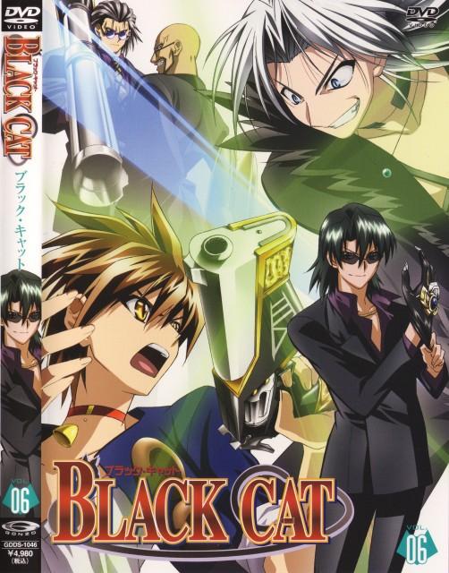 Kentaro Yabuki, Gonzo, Black Cat, Creed Diskenth, Train Heartnet