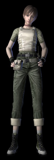 Capcom, Resident Evil Zero, Rebecca Chambers