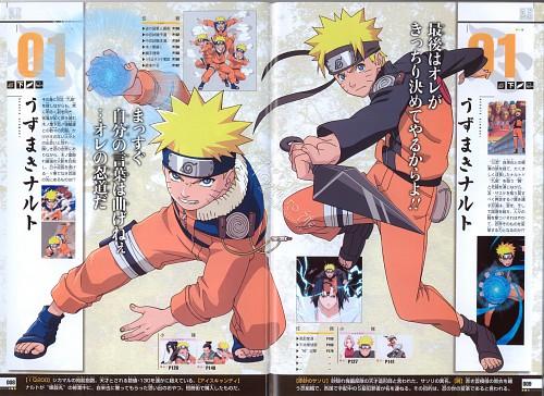 Studio Pierrot, Naruto, Naruto Juunen Hyakunin, Naruto Uzumaki