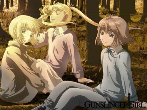 Madhouse, Gunslinger Girl, Rico (Gunslinger Girl), Henrietta, Triela Wallpaper