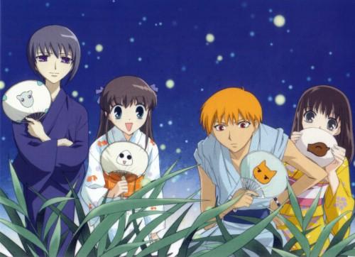Natsuki Takaya, Fruits Basket, Kagura Sohma, Tohru Honda, Kyo Sohma