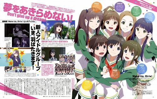 Ordet, Tatsunoko Production, Wake Up Girls!, Yoshino Nanase, Kaya Kikuma