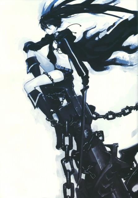 huke, Black Rock Shooter, Black Rock Shooter (Character), Doujinshi, DVD Cover
