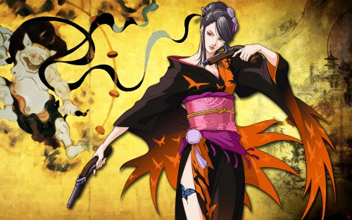 Capcom, Sengoku Basara, Nouhime (Sengoku Basara) Wallpaper