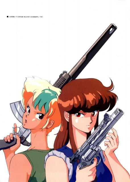 Kenichi Sonoda, Anime International Company, Gall Force, Bubblegum Crisis, Gallant (Artbook)