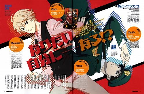 Aniplex, Manglobe, Samurai Flamenco, Hidenori Gotou, Masayoshi Hazama