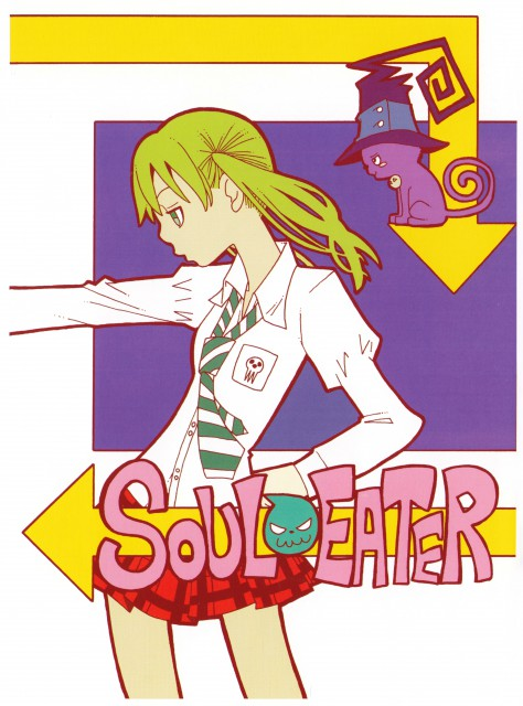 Atsushi Okubo, Soul Eater, Soul Art, Maka Albarn, Blair