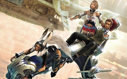 Square Enix, Final Fantasy XII, Ashe, Fran (Final Fantasy XII), Balthier