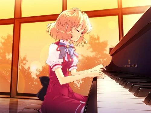 Noizi Ito, UNiSONSHIFT, Flyable Heart, Amane Sumeragi, Game CG