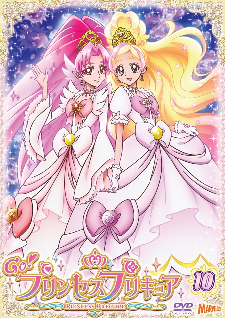 Toei Animation, Go! Princess Precure, Cure Scarlet, Cure Flora, Official Digital Art