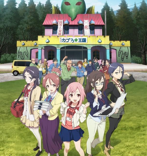 Kanami Sekiguchi, P.A. Works, Sakura Quest, Ririko Oribe, Chitose Oribe