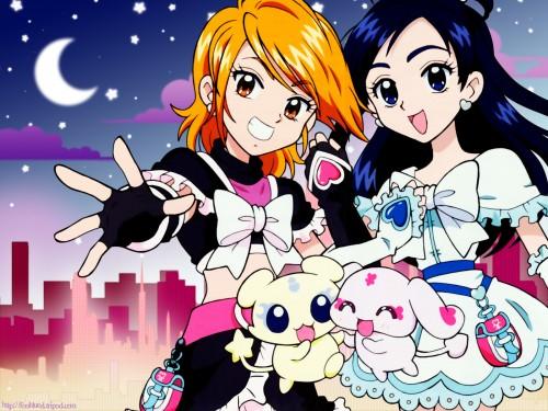 Toei Animation, Futari wa Precure, Mipple, Cure White, Cure Black Wallpaper