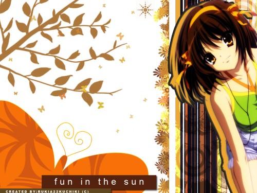 Noizi Ito, Kyoto Animation, The Melancholy of Suzumiya Haruhi, Haruhi Suzumiya Wallpaper