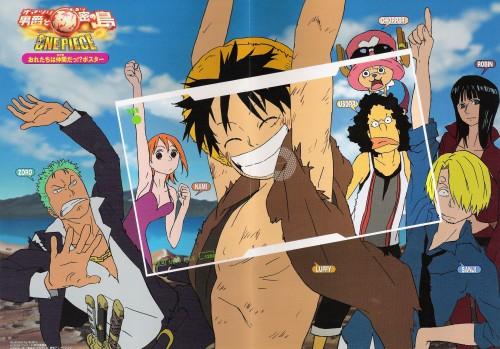 Eiichiro Oda, One Piece, Sanji, Tony Tony Chopper, Roronoa Zoro